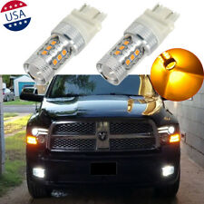 2x 16-SMD Amber LED Bulb Turn Signal Lamp & Parking Light For Ram 1500 2009-2018
