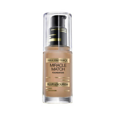 Max Factor Miracle Match Blur  Nourish Foundation, 55 Beige 30ml