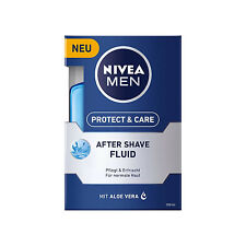 100ml Nivea Men Protect & Care after Shave Fluid Razor Care Refreshes Aloe