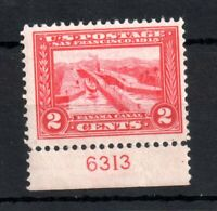 USA 1913 2c carmine or carmine Lake #398 VLHM WS13651