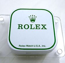 1984 Vintage Rolex Watch Part Tin Box Display Dial Container USA