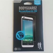 BodyGuardz ScreenGuardz HD 2 Pack Screen Protector for HTC Desire 626 New