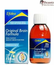 Efamol Efalex Omega 3 Food Supplement Lemon & Lime Flavoured Liquid 150ml
