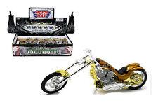 MOTOR MAX 1/18 DISPLAY IRON CHOPPERS DIE-CAST Motorcycles MC-55687