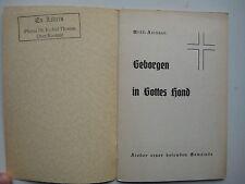 Brandenburg Havel Willi Leisner Bekennende Kirche CVJM Geborgen in Gottes Hand