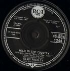 "ELVIS PRESLEY wild in the country/i feel so bad RCA 1244 uk 1961 7"" WS EX-/"