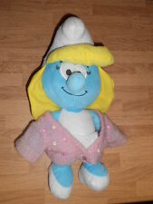 "Smurfette Smurfs 14"" Plush Doll with Pink Sweater"