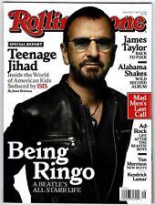 NEW Rolling Stone Magazine Ringo Starr Beatles 4/9/15 2015 No Label USA Edition
