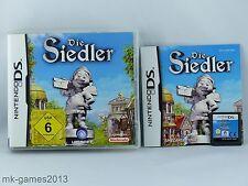 Die Siedler für Nintendo DS/DS Lite/XL/3DS - OVP+Anl. - Sehr guter Zustand TOP