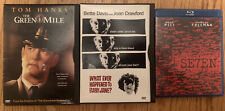 DVD Blu-ray Lot Seven, Whatever Happened To Baby Jane & The Green Mile