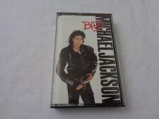 Vintage Michael Jackson Bad Audio Cassette Tape