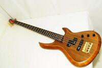 Excellent Aria Pro II Japan Walnut Top Mahogany Back Electric Bass Ref No 3175