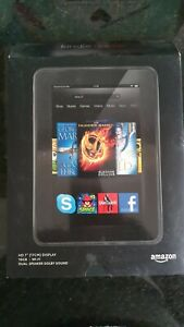 "Kindle HD 7"" 2nd Generation 17cm Display 16GB WIFI with 2 Protective Cases"