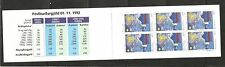 Iceland SC # 760 Christmas 1992 .Complete Booklets . MNH