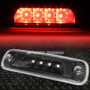 FOR 97-01 JEEP CHEROKEE XJ LED THIRD 3RD TAIL BRAKE LIGHT REAR STOP LAMP BLACK