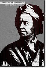 ICONS OF MATHEMATICS #4 - LEONHARD EULER - UNIQUE PHOTO ART PRINT GIFT LEONARD