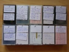 Konvolut 10x SVHSC S VHS C Kassette Maxell TDK Fuji gebraucht bespielt