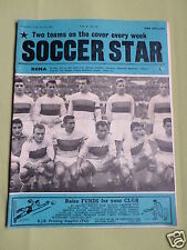 SOCCER STAR - UK FOOTBALL MAGAZINE - 24 JUNE 1961 - ROMA - HAMBURG S.V.