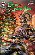 Grimm Fairy Tales Holiday Special 2014 Cover B - NM+ or better!
