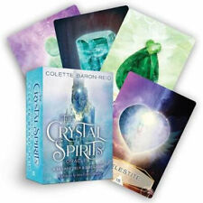 NEW Crystal Spirits Oracle By Colette Baron-Reid Card PDF Card Deck FreeShipping