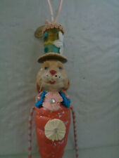 Katherine's Collection - Carrot - Rabbit Ornament