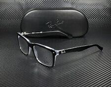 RAY BAN RX5287 2034 Top Black On Transparent Demo Lens 52 mm Men's Eyeglasses