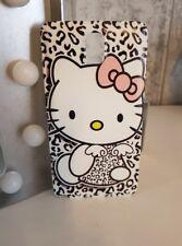 ★★★ Cache Batterie Plastique Rigide Cadeau SAMSUNG NOTE 3 - Hello Kitty ★★★