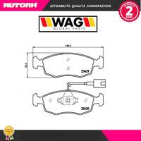 14111 Kit pastiglie freno a disco ant.Fiat-Lancia (MARCA-WAG)