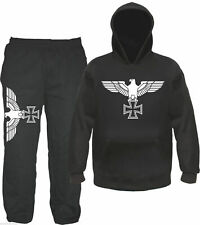 Imperial Eagle Jogging Suit - Hoodie and Joggers - Iron cross Jogger Sweatshirt