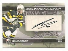 Roland McKeown 13-14 In the Game Heroes & Prospects Autograph Signature