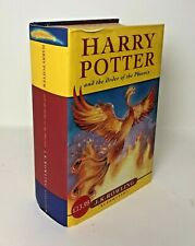 HARRY POTTER AND THE ORDER OF THE PHOENIX JK Rowling Bloomsbury HB/DJ 1st/7th