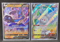 Pokemon Champions Path Lucario V 027/073 + Cursola V Full Art 071/073