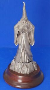 """Vintage 1985 Perth Pewter Magicmaster Ray Lamb LE 973/2500 Signed Large 8.5"""""""