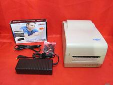 Etisys OS-214 Thermo Etiketten Drucker mit Universal Netzteil MS-Tech MS-N120NB