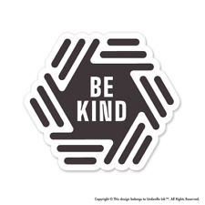 Be Kind Hive Inspirational Sticker Kind Decal Bumper Car