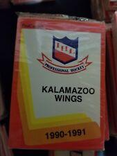 1990-91 Pro Cards IHL KALAMAZOO WINGS Hockey Team Set Sealed