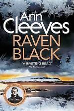 ANN CLEEVES   RAVEN BLACK   BRAND NEW PAPERBACK