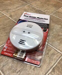 Kidde PI9000 Battery Operated Dual Sensor Ion Photo Smoke Alarm Detector NEW