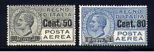 1927 Italia Regno PA 2 valori sovr. nuovi **