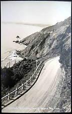 Redwood Highway CA~1930s PAT RPPC~ 1000 ft. above sea