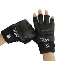 Men Women MMA Sparring Punch Bag Gloves Boxing Mitts Karate Muay Thai Training