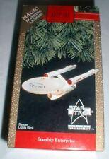 VINTAGE 1991 HALLMARK STAR TREK STARSHIP ENTERPRISE MAGIC KEEPSAKE ORNAMENT NEW