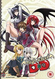 High School Dxd: Complete Series Collection (DVD) Yoko Hikasa, Azumi Asakura