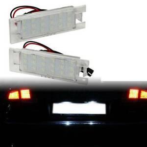 Kennzeichenbeleuchtung LED für Opel Astra H J OPC Corsa C D Insignia A 6223513