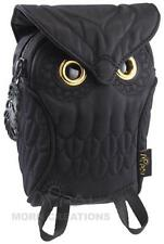 Owl 3D Pouch size LARGE BLACK MORN CREATIONS bag iphone camera hoot hooter