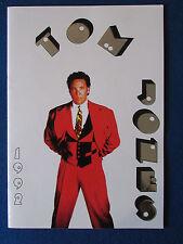 Tom Jones - Concert Tour Programme - 1992