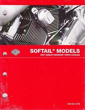 2007 Harley Softail FX/FL Springer Deuce Heritage Classic Parts Catalog Manual