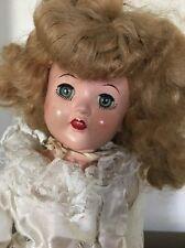Vintage Plastic Bride Doll