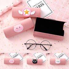 Cute Pink Koreanische Version Cartoon Cute Cat Student Glasses Eyeglass Case