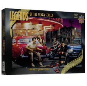 """Legends of the Silver Screen """"Legendary Crossroads"""" 1000 piece Puzzle (SEALED)"""